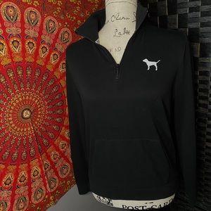 Classic Black PINK Turtleneck Sweatshirt